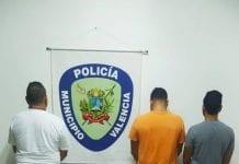 Detenidos en la estación de servicio de Prebo