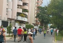 Protesta en Prebo