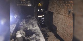 Incendio en Poblado de San Diego