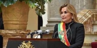 Jeanine Áñez renuncia a su candidatura