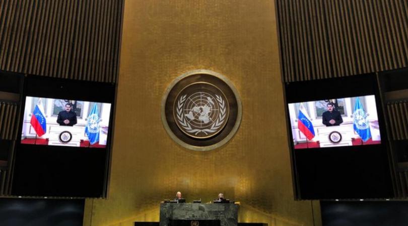 Maduro en la Asamblea General de la ONU