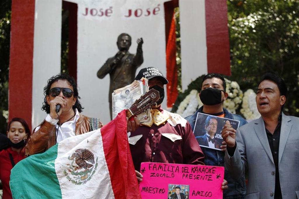 Mexicanos recuerdan a José José - noticias24 Carabobo
