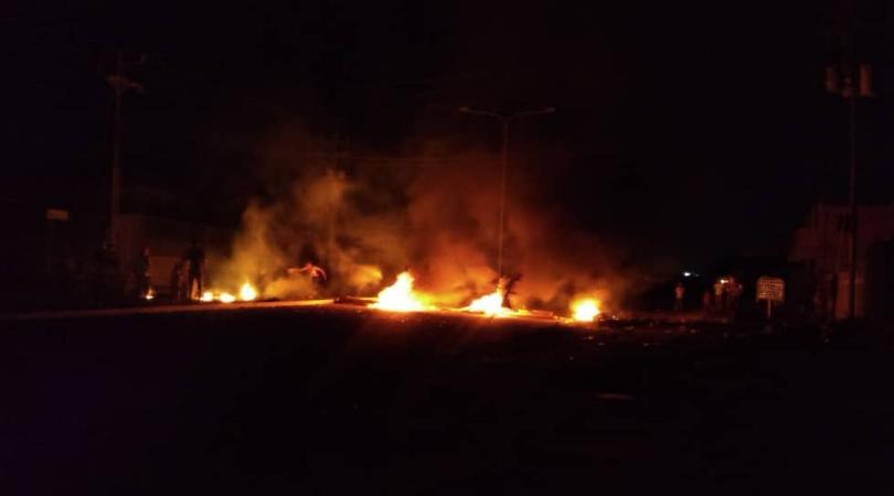 Protestas en Maracaibo