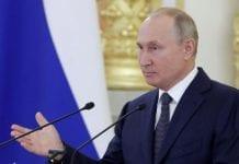 Putin para el premio Nobel de la Paz