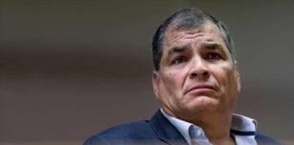Rafael Correa llegó a Venezuela