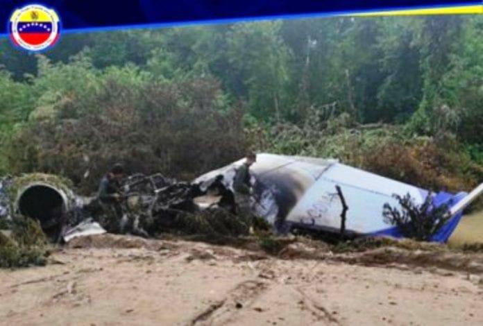 Venezuela inutiliza aeronave del narcotráfico - noticias24 Carabobo