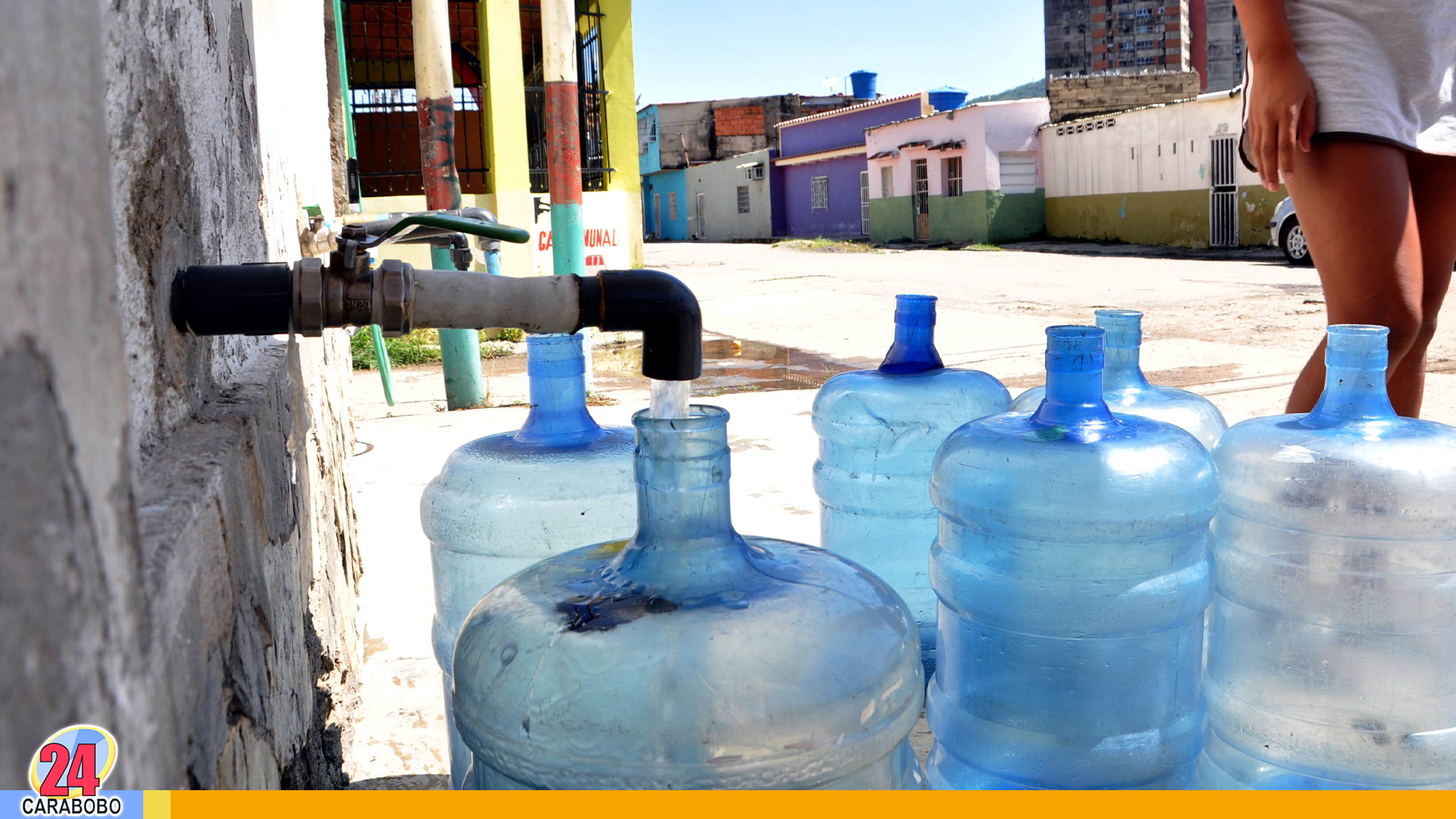 Agua en sectores de Carabobo - Agua en sectores de Carabobo
