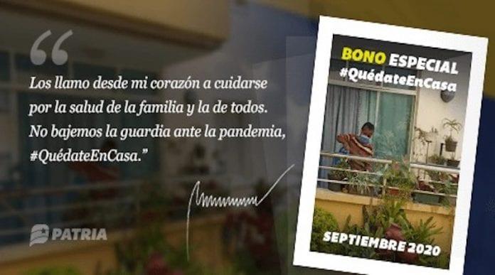 Bono septiembre - Bono septiembre
