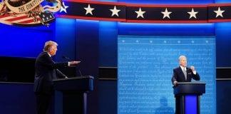 debate entre Trump y Biden