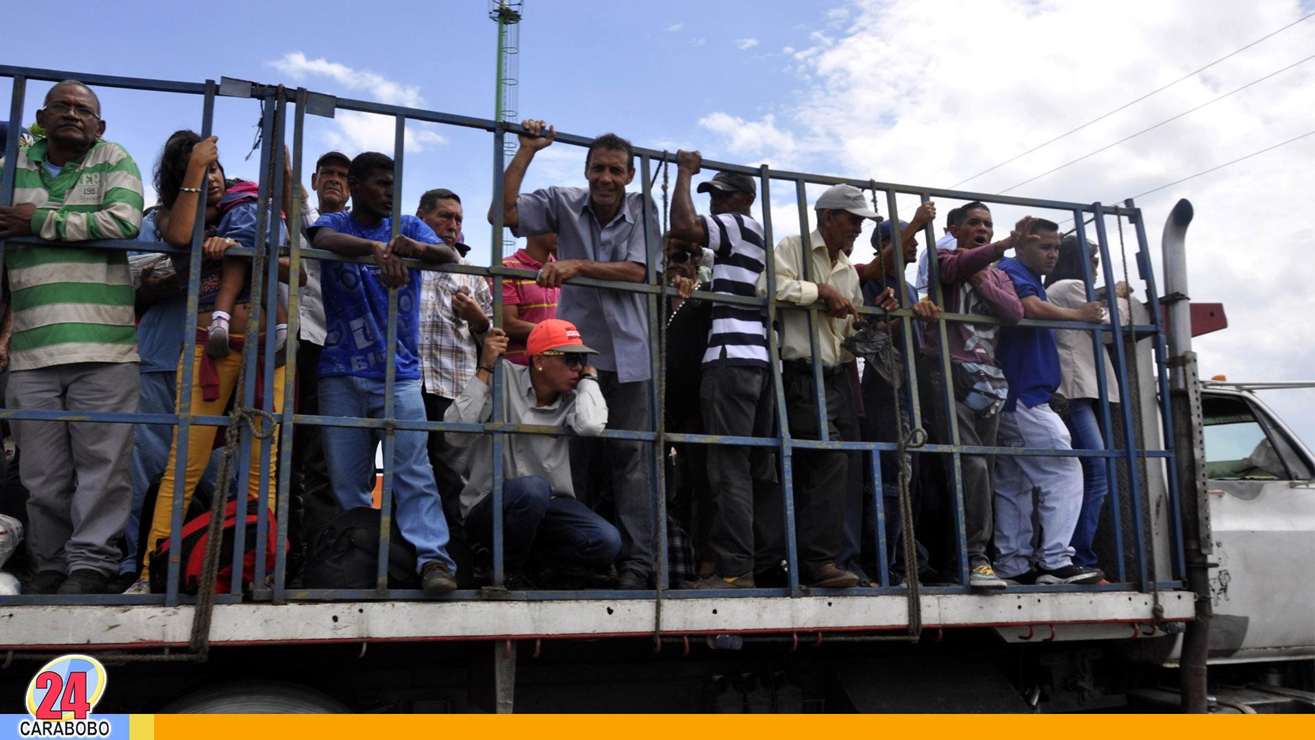 Noticias de Carabobo, Transporte de Güigüe, Central Tacarigua, Las Tres Cruces, Pared de Piedra, Belén, Noticias24Carabobo, 23 de Septiembre