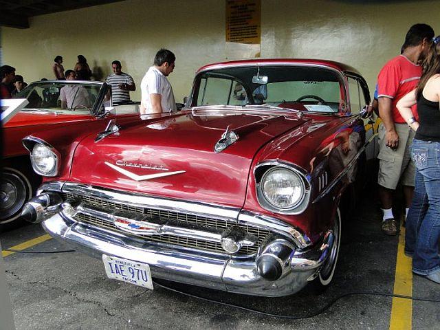 Carros antiguos del Shopping Center - Carros antiguos del Shopping Center