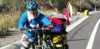 Ciclista Douglas Pérez - Ciclista Douglas Pérez