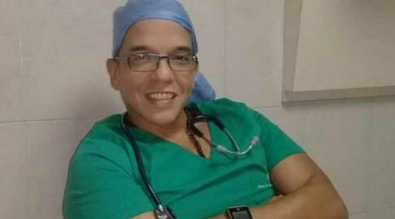 médico intensivista de la CHET