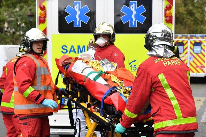 Dos personas heridas en París - Dos personas heridas en París