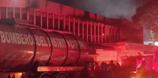 Incendio en Chapellín