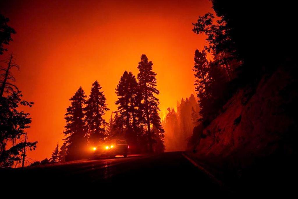 Miles de bomberos luchan para sofocar incendio - noticias24 Carabobo