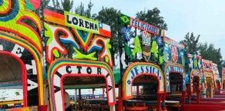 Trajineras de Xochimilco - Trajineras de Xochimilco