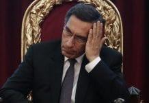 Presidente peruano Martín Vizcarra - Presidente peruano Martín Vizcarra