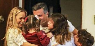 Leopoldo López llegó a Madrid