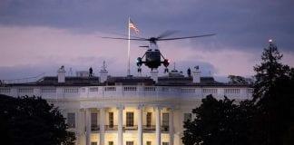 Trump regresa a la Casa Blanca
