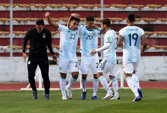 Argentina remontó y venció a Bolivia - noticias24 Carabobo
