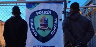 Detenidos dos sujetos en Guacara
