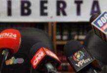 intimidación y detenciones a periodistas en Venezuela