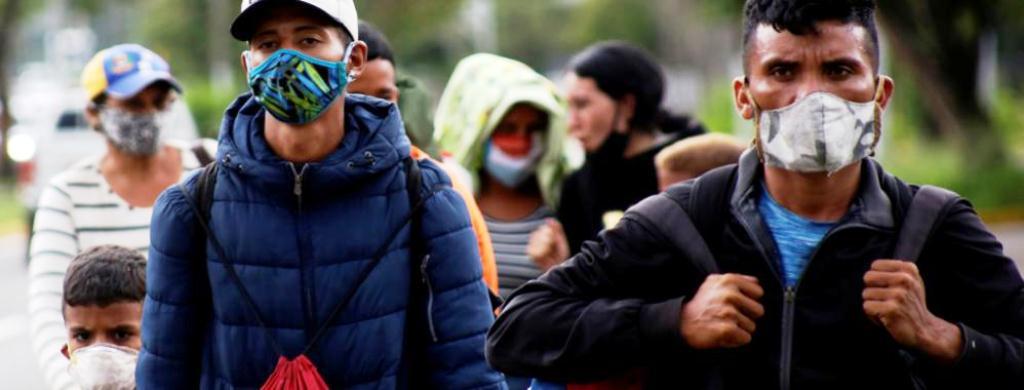 Nueva ola de migrantes se dirige a Colombia - noticias24 Carabobo