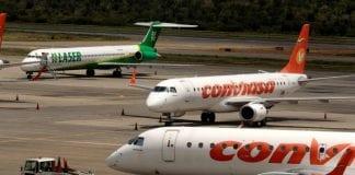 Restricción de vuelos en Venezuela
