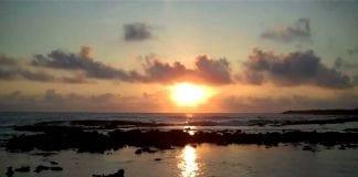 Un amanecer en Morrocoy - Un amanecer en Morrocoy