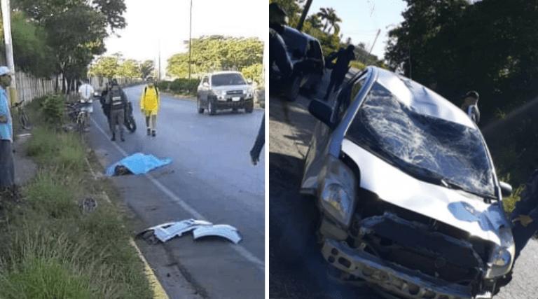 Mueren dos ciclistas arrollados por vehículo en Cumaná