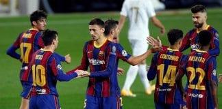 Barcelona golea al Ferencvárosi