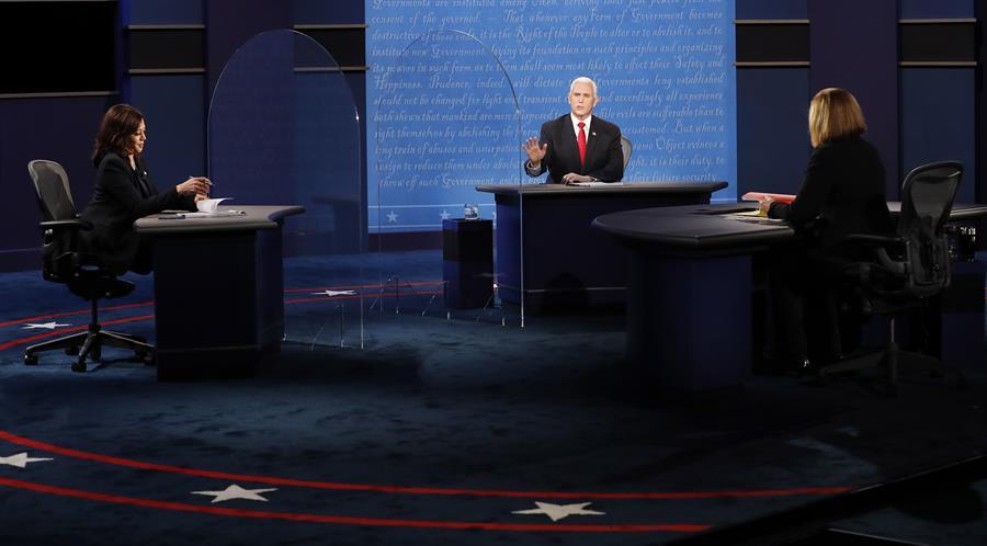 Debate entre Pence y Harris