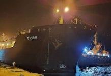 Tercer buque iraní con gasolina