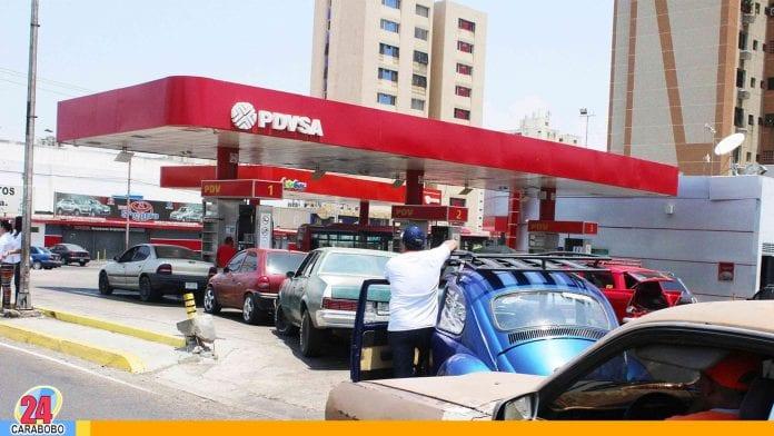 Colas de la gasolina - Colas de la gasolina