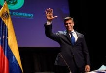 Rueda de prensa de Leopoldo López