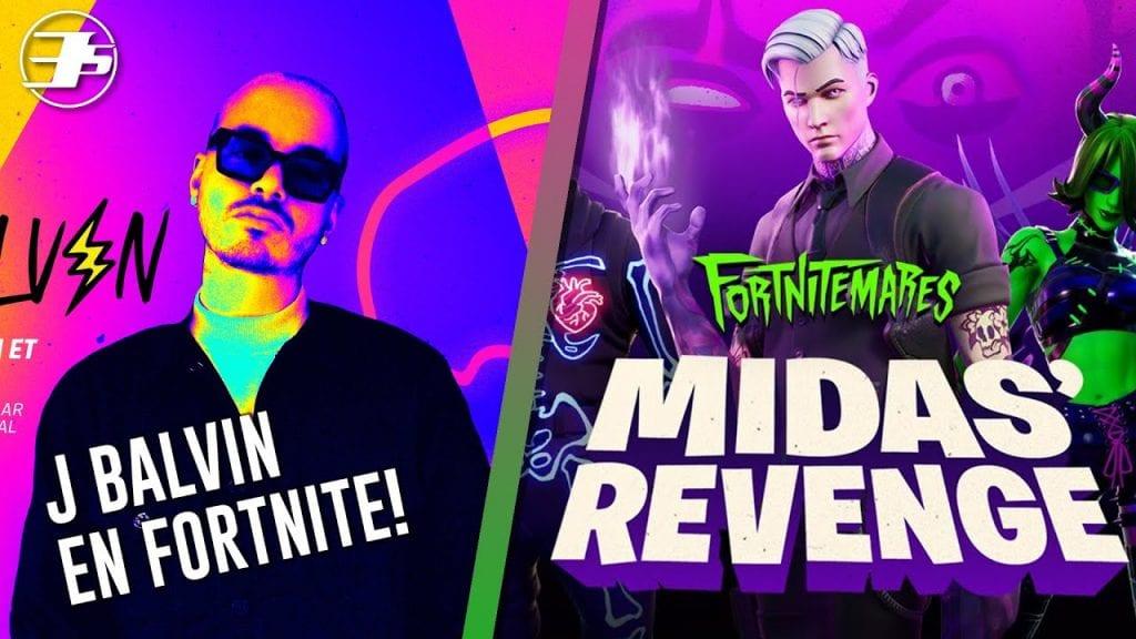 J Balvin en Fortnite