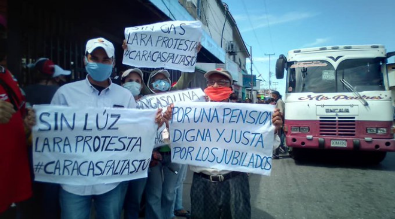 protestas por fallas en los servicios públicos