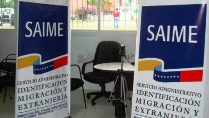 Correo electrónico del SAIME – correo electrónico del SAIME