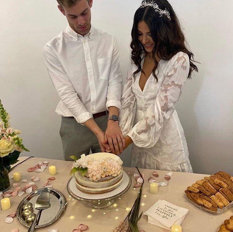 Sheryl Rubio se casó