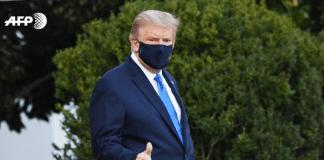 Trump fue trasladado a hospital militar - noticias24 Carabobo