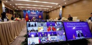 china bloque comercial