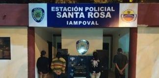 detenidos violar cuarentena santa rosa
