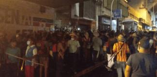 Enfrentamiento entre indígenas y PNB