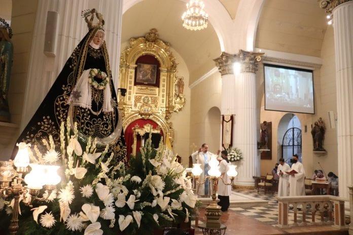 Primera caminata Nuestra Señora del Socorro