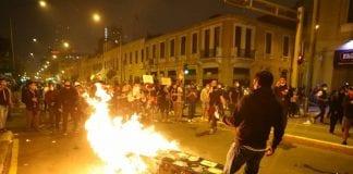 Protestas en Perú – protestas en Perú