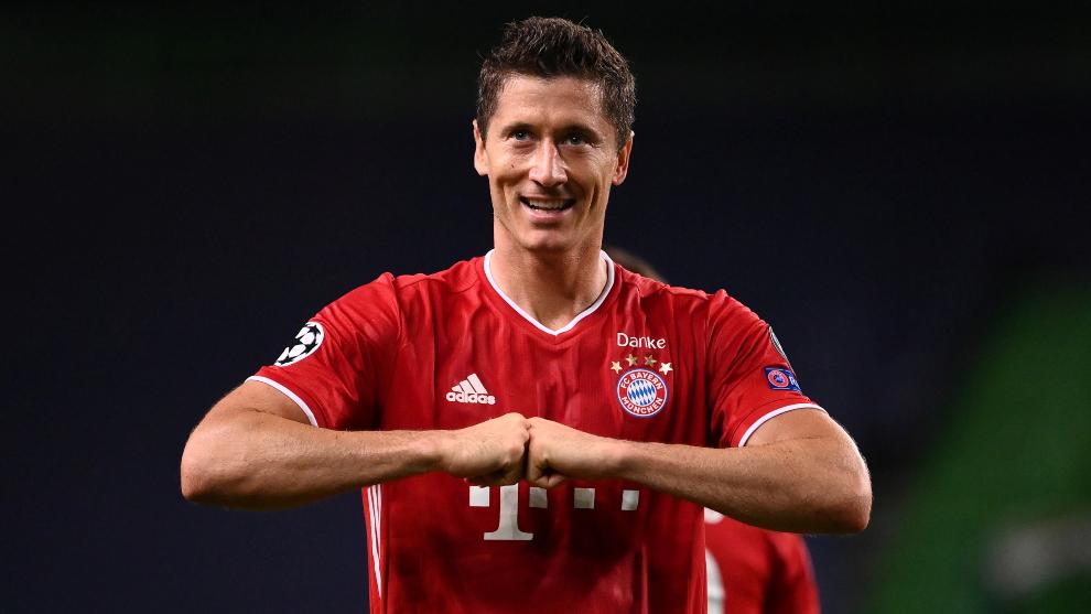 Lewandowski mejor jugador del año