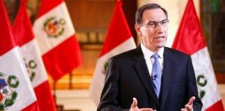 destitución del presidente Martín Vizcarra