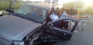 Accidente vial en Variante Bárbula San Diego