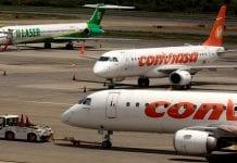 vuelos comerciales a Porlamar y Los Roques